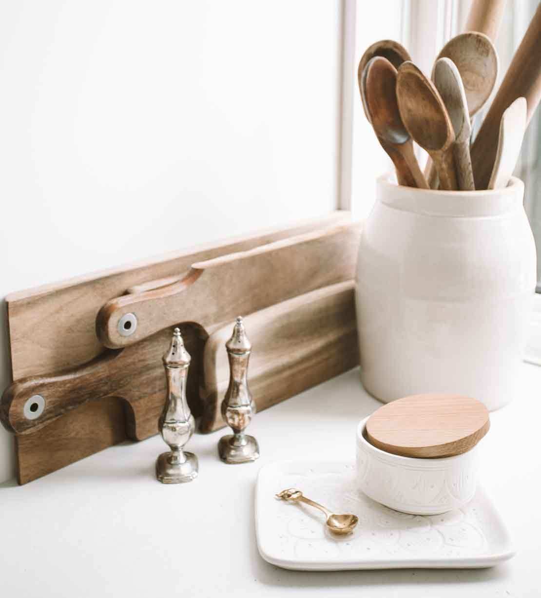 Take care of wooden kitchen utensils in 3 easy steps